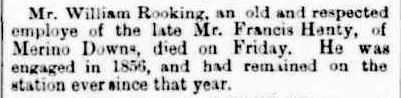 OBITUARY. (1901, June 14). The Horsham Times (Vic. : 1882 - 1954), p. 3. Retrieved February 26, 2013, from http://nla.gov.au/nla.news-article73027645