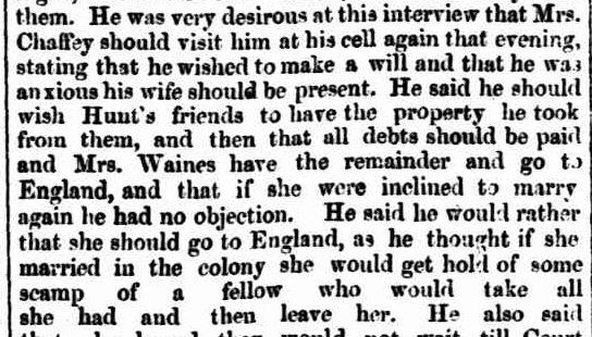 THE CASTERTON MURDER. (1860, April 30). The South Australian Advertiser (Adelaide, SA : 1858 - 1889), p. 3. Retrieved February 6, 2013, from http://nla.gov.au/nla.news-article1204764