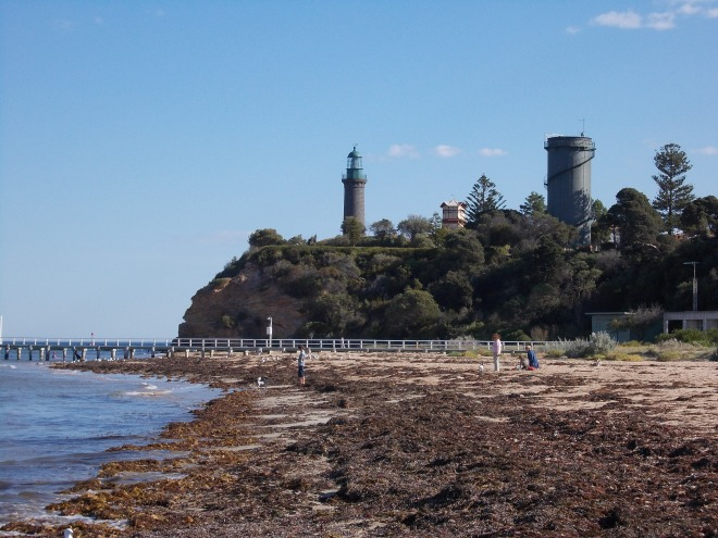 QUEENSCLIFF'S BLACK LIGHTHOUSE
