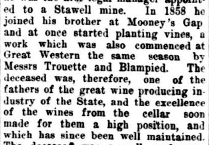 OBITUARY. (1915, March 30). The Ararat advertiser (Vic. : 1914 - 1918), p. 2 Edition: triweekly. Retrieved March 26, 2013, from http://nla.gov.au/nla.news-article74241893