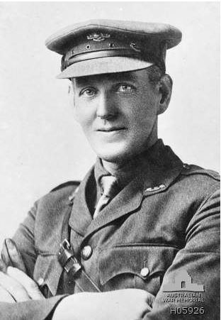 2nd Leuitenant Simon Fraser, 58th Battalion.  Image courtesy of the Australian War Memorial-ID no H05926 http://www.awm.gov.au/collection/H05926/