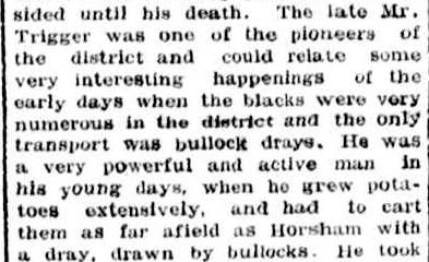 OBITUARY. (1945, May 24). Portland Guardian (Vic. : 1876 - 1953), p. 3 Edition: EVENING. Retrieved April 27, 2013, from http://nla.gov.au/nla.news-article64404393