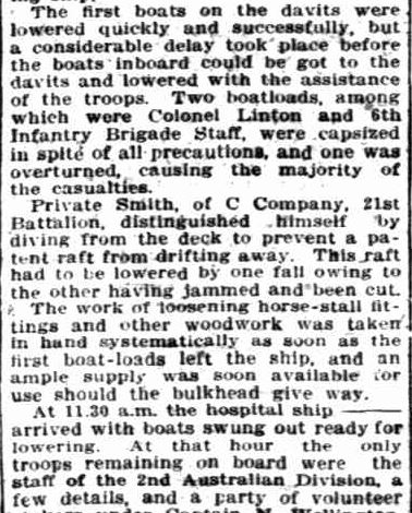 THE GENERAL'S PRAISE. (1915, November 21). Sunday Times (Perth, WA : 1902 - 1954), p. 1 Section: First Section. Retrieved April 23, 2013, from http://nla.gov.au/nla.news-article57829146