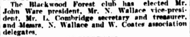 COUNTRY NEWS. (1926, April 21). The Argus (Melbourne, Vic. : 1848 - 1957), p. 26. Retrieved April 24, 2013, from http://nla.gov.au/nla.news-article3746499