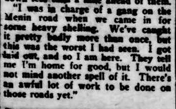 BATTLE STORIES FROM THE WEST FRONT. (1917, December 29). Cairns Post (Qld. : 1909 - 1954), p. 8. Retrieved April 24, 2013, from http://nla.gov.au/nla.news-article40273100
