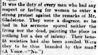 THE REV. GEORGE GLADSTONE. (1899, June 21). The Argus (Melbourne, Vic. : 1848 - 1956), p. 8. Retrieved April 1, 2013, from http://nla.gov.au/nla.news-article9516823