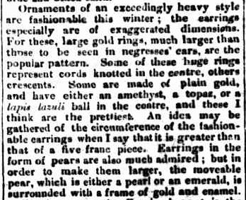 THE FASHIONS FOR DECEMBER. (1866, February 1). Portland Guardian and Normanby General Advertiser (Vic. : 1842 - 1876), p. 4 Edition: EVENING. Retrieved May 30, 2013, from http://nla.gov.au/nla.news-article64635701