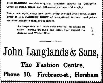Advertising. (1919, April 25). The Horsham Times (Vic. : 1882 - 1954), p. 1. Retrieved May 30, 2013, from http://nla.gov.au/nla.news-article73048126