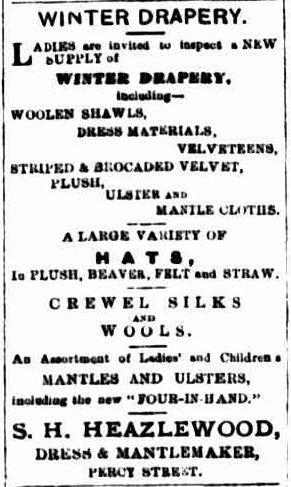 Advertising. (1883, July 19). Portland Guardian (Vic. : 1876 - 1953), p. 3 Edition: MORNING. Retrieved May 30, 2013, from http://nla.gov.au/nla.news-article71585826