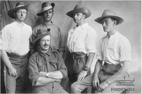 Image Courtesy of the Australian War Memorial P00265.001 http://www.awm.gov.au/collection/P00265.001