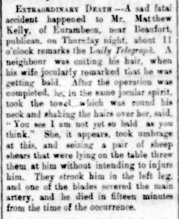 The Portland Guardian,. (1888, July 23). Portland Guardian (Vic. : 1876 - 1953), p. 2 Edition: EVENING. Retrieved May 7, 2013, from http://nla.gov.au/nla.news-article63589310