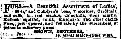 Advertising. (1855, May 24). Geelong Advertiser and Intelligencer (Vic. : 1851 - 1856), p. 4 Edition: DAILY.. Retrieved May 22, 2013, from http://nla.gov.au/nla.news-article91871285