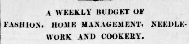 FOR WIVES AND DAUGHTERS. (1916, February 23). The Colac Herald (Vic. : 1875 - 1918), p. 3. Retrieved May 12, 2013, from http://nla.gov.au/nla.news-article75256133