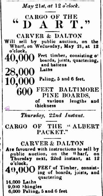 dvertising. (1851, May 20). Geelong Advertiser (Vic. : 1847 - 1851), p. 3 Edition: DAILY and MORNING. Retrieved June 2, 2013, from http://nla.gov.au/nla.news-article91914023