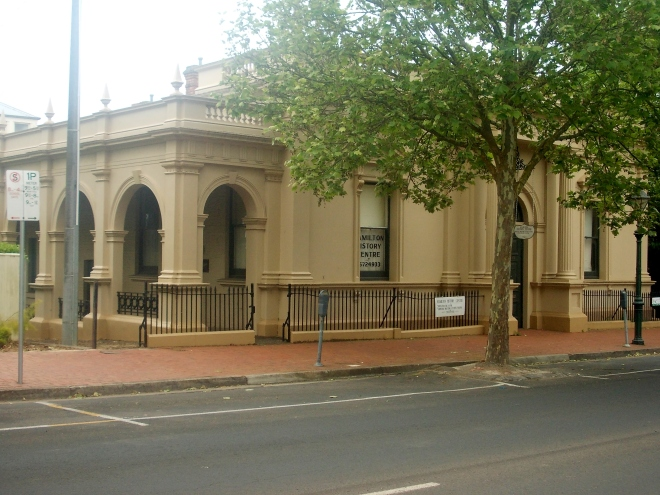 HAMILTON HISTORY CENTRE, FORMALLY MECHANICS INSTITUTE.