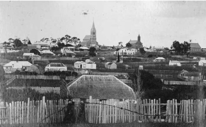VIEW OF HAMILTON, 1880. Image Courtesy of the State Library of South Australia Image No. B2176/55 http://images.slsa.sa.gov.au/mpcimg/22000/B21766_55.htm