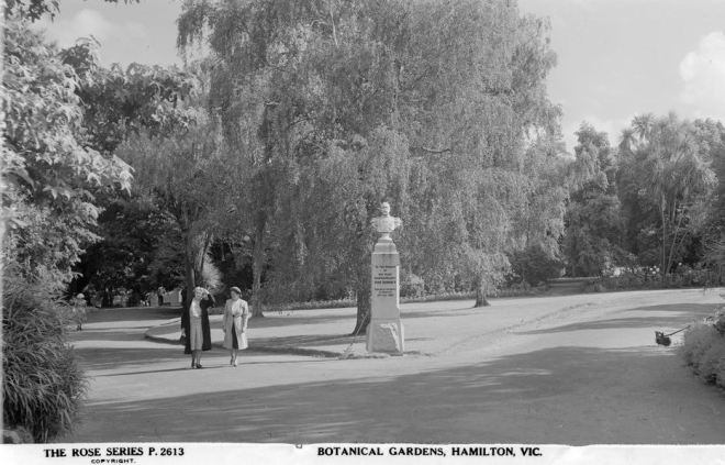 HAMILTON BOTANICAL GARDENS Image Courtesy of the State Library of Victoria. Image no. H32492/3783 http://handle.slv.vic.gov.au/10381/60784
