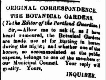 ORIGINAL CORRESPONDENCE. (1859, May 2). Portland Guardian and Normanby General Advertiser (Vic. : 1842 - 1876), p. 2 Edition: EVENINGS.. Retrieved July 4, 2013, from http://nla.gov.au/nla.news-article64510907