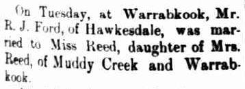 SOCIAL. (1901, May 7). The Horsham Times (Vic. : 1882 - 1954), p. 1. Retrieved June 15, 2013, from http://nla.gov.au/nla.news-article73026998