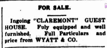 Advertising. (1927, May 5). Portland Guardian (Vic. : 1876 - 1953), p. 3 Edition: EVENING. Retrieved July 18, 2013, from http://nla.gov.au/nla.news-article64257015