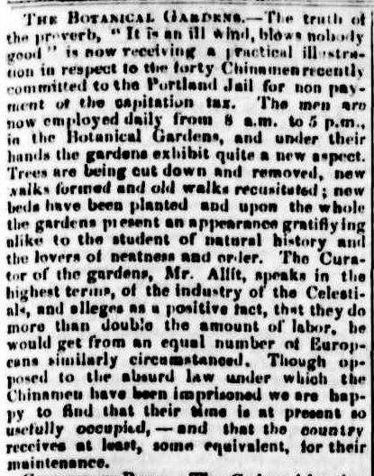 Table Talk. (1863, April 23). Portland Guardian and Normanby General Advertiser (Vic. : 1842 - 1876), p. 2 Edition: EVENING. Retrieved July 7, 2013, from http://nla.gov.au/nla.news-article64628622