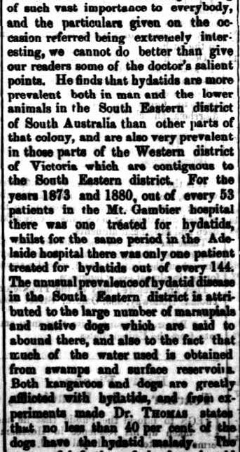 The Horsham Times. (1883, March 16). The Horsham Times (Vic. : 1882 - 1954), p. 2. Retrieved August 21, 2013, from http://nla.gov.au/nla.news-article72872771
