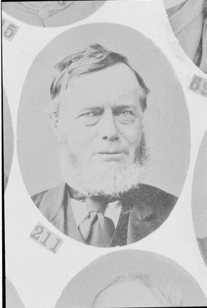 WILLIAM CORNEY (1872).  Photographer Thomas Foster Chuck.  Image courtesy of the State Library of Victoria.  Image no. H5056/211 http://handle.slv.vic.gov.au/10381/17942