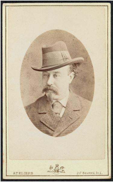 "[John Stanley James, alias] Julian Thomas [pen name ""The Vagabond""] Stewart & Co., e photographer."