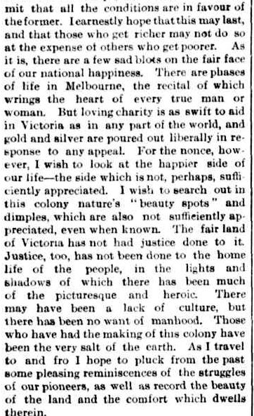 PICTURESQUE VICTORIA. (1884, July 19). The Argus (Melbourne, Vic. : 1848 - 1957), p. 4. Retrieved August 9, 2013, from http://nla.gov.au/nla.news-article6053606
