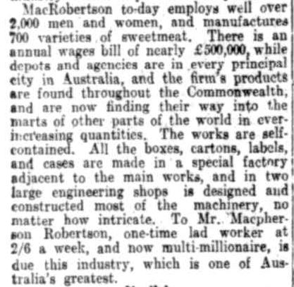 WONDERLAND OF INDUSTRY. (1925, April 15). The Register (Adelaide, SA : 1901 - 1929), p. 10. Retrieved October 9, 2013, from http://nla.gov.au/nla.news-article63710202
