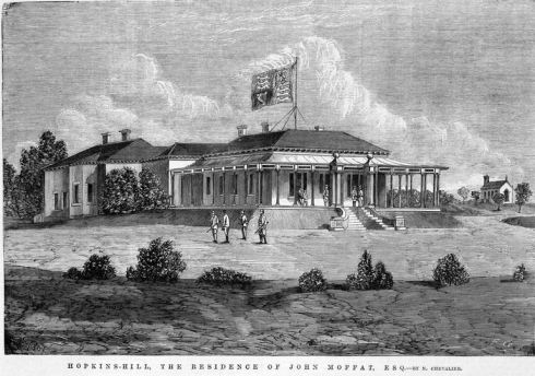 HOPKINS HILL HOMESTEAD.  Engraving by Grosse, Frederick, d 1828-1894, Image Courtesy of the State Library of Victoria.  Image No. IAN04/02/68/SUPP/4 http://handle.slv.vic.gov.au/10381/237805