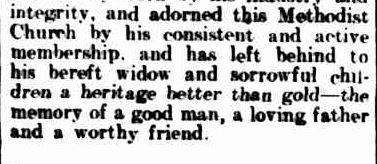 METHODIST CHURCH. (1914, September 14). Warrnambool Standard (Vic. : 1914 - 1918), p. 4 Edition: DAILY.. Retrieved September 25, 2013, from http://nla.gov.au/nla.news-article73581774