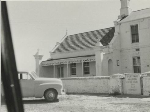 FORMER PORT FAIRY HOSPITAL c1958.  Image Courtesy of the State Library of Victoria