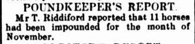 SHIRE COUNCIL. (1915, December 3). Creswick Advertiser (Vic. : 1914 - 1918), p. 2. Retrieved September 11, 2013, from http://nla.gov.au/nla.news-article119523460