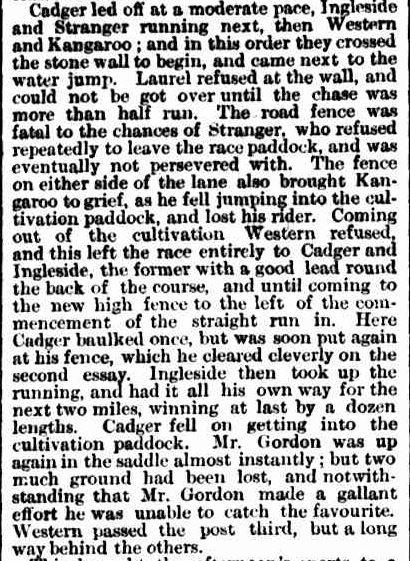 BALLARAT TURF CLUB. (1867, April 13). The Argus (Melbourne, Vic. : 1848 - 1957), p. 6. Retrieved September 16, 2013, from http://nla.gov.au/nla.news-article5764224