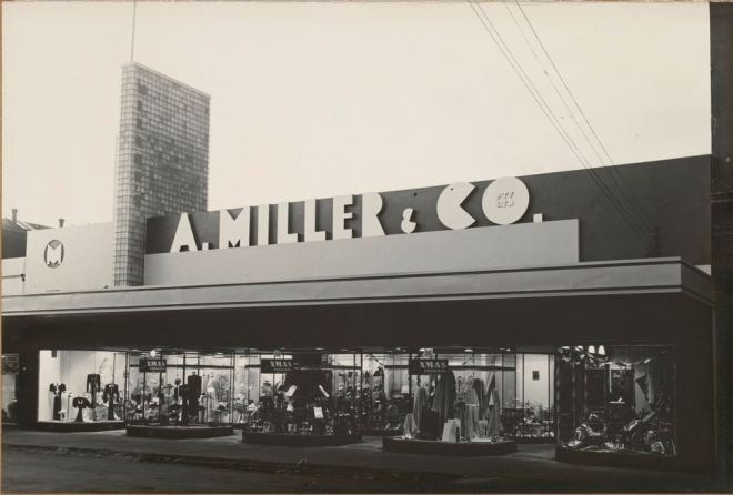 A. MILLER & CO. PTY LTD, GRAY STREET, HAMILTON. Circa 1950s.  Image Courtesy of the State Library of Victoria.  Image No.  H91.142/9 http://handle.slv.vic.gov.au/10381/122523