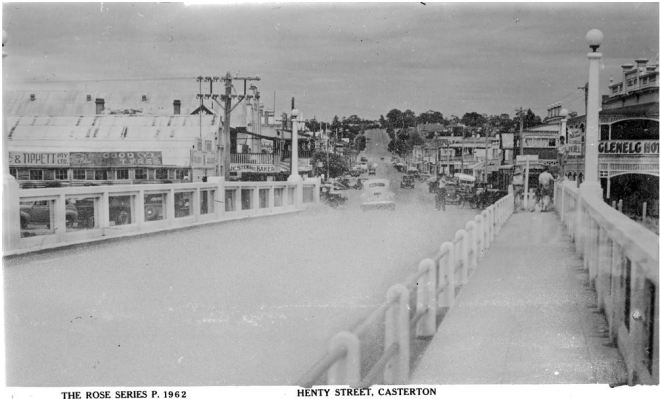 HENTY STREET, CASTERTON.  Image Courtesy of the State Library of Victoria.  Image no. H32492/2770  http://handle.slv.vic.gov.au/10381/63173