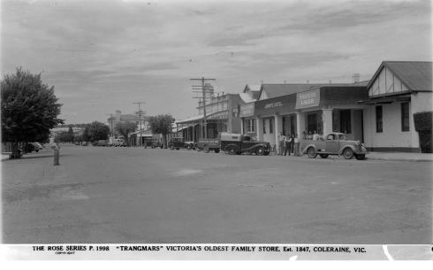 COLERAINE.  Image Courtesy of the State Library of Victoria.  Image no. H32492/2813 http://handle.slv.vic.gov.au/10381/63071