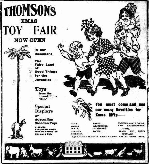 Advertising. (1917, November 29). Hamilton Spectator (Vic. : 1914 - 1918), p. 3. Retrieved December 3, 2013, from http://nla.gov.au/nla.news-article119859911