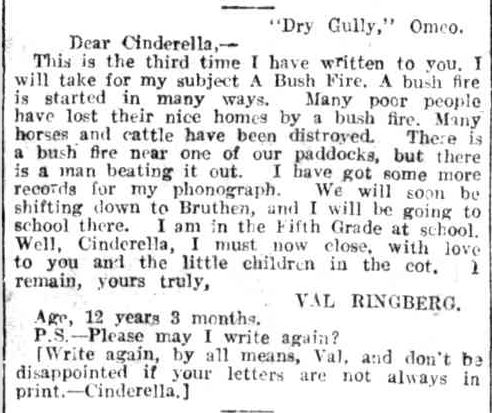 CINDERELLA'S MENAGERIE. (1914, May 16). Leader (Melbourne, Vic. : 1914 - 1918), p. 59. Retrieved January 27, 2014, from http://nla.gov.au/nla.news-article89309559