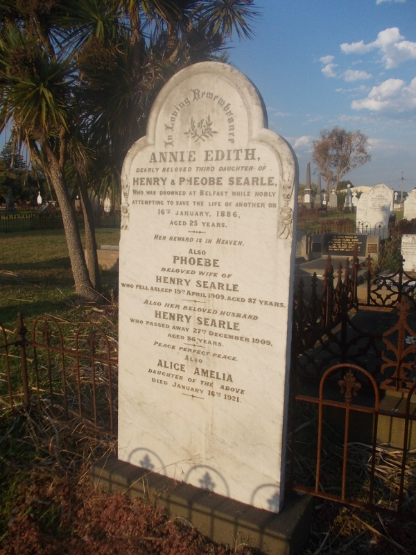 SEARLE FAMILY GRAVE