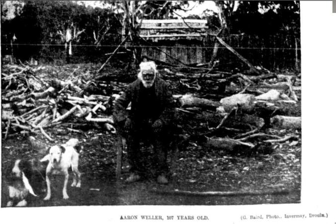 THE OLDEST MAN IN VICTORIA. (1897, July 24). The Australasian (Melbourne, Vic. : 1864 - 1946), p. 23. Retrieved February 23, 2014, from http://nla.gov.au/nla.news-article139744803
