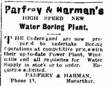 Advertising. (1915, January 18). Hamilton Spectator (Vic. : 1914 - 1918), p. 6. Retrieved March 10, 2014, from http://nla.gov.au/nla.news-article119833885