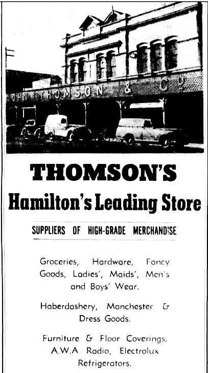 Advertising. (1953, July 21). The Argus (Melbourne, Vic. : 1848 - 1957), p. 21. Retrieved March 27, 2014, from http://nla.gov.au/nla.news-article23256981