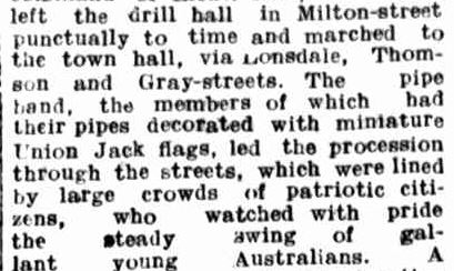 THE EXPEDITIONARY FORCE. (1914, August 22). Hamilton Spectator (Vic. : 1914 - 1918), p. 6. Retrieved April 19, 2014, from http://nla.gov.au/nla.news-article119865290