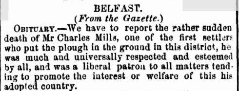 """BELFAST."" The Age (Melbourne, Vic. : 1854 - 1954) 21 Nov 1855: 6. ."