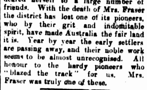 OBITUARY. (1918, May 18). Hamilton Spectator (Vic. : 1914 - 1918), p. 4. Retrieved May 25, 2014, from http://nla.gov.au/nla.news-article119502066