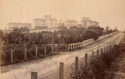 ARARAT ASYLUM c1880.  Image courtesy of the State Library of Victoria.  Image no. H1887 http://handle.slv.vic.gov.au/10381/151015