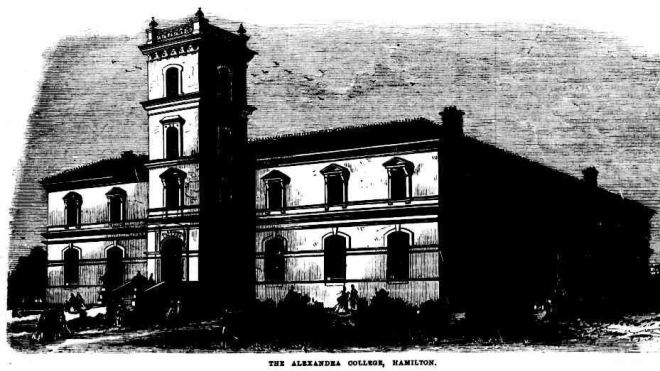 ALEXANDRA COLLEGE, [No heading]. (1874, July 11). The Australasian Sketcher with Pen and Pencil (Melbourne, Vic. : 1873 - 1889), p. 52. Retrieved July 24, 2014, from http://nla.gov.au/nla.news-page5985586