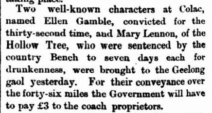 TOWN TALK. (1876, June 14). Geelong Advertiser (Vic. : 1857 - 1918), p. 2. Retrieved July 14, 2014, from http://nla.gov.au/nla.news-article148911495